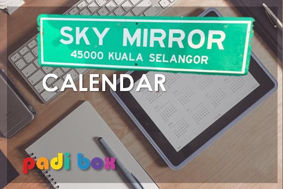 SKY MIRROR CALENDER  www.skymirrorworld.com (016 223 4788)
